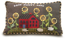 Sunflower Garden pillow pattern 230 Geoff's Mom