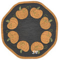 LS Pumpkin Candle Mat pattern