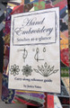 Hand Embroidery - Stitches at a glance by Janice Vaine