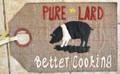 Linen Closet Designs - Pure Lard - Vintage Tag Series