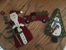 Yuletide Ornaments designed by Primitive Gatherings