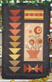 Harvest Blossoms small wall quilt pattern design by Liberty Homestead LB16