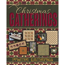 Christmas Gatherings pattern book by Primitive Gatherings PRI1001