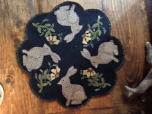 Mr. Rabbit table mat designed by Cricket Wool Street
