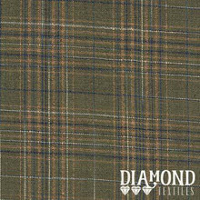 Diamond Textiles Rustic Homespuns Green plaid RHS 83