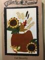 Fall Bounty pattern designer Sharon Stewart Liberty Rose