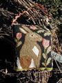 Peppermint Tulips punchneedle pattern designer Lori Brechlin Notforgotten Farms
