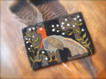 Turkey and Tallowberries punchneedle pattern designer Lori Brechlin Notforgotten Farms