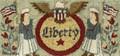 Liberty punchneedle pattern designer Teresa Kogut