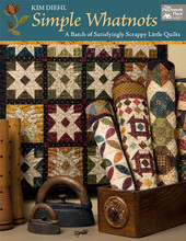 B Simple Whatnots author Kim Diehl quilt book