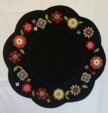 Buttons, Blooms, designer, Little, Red, Hen, kit, pattern