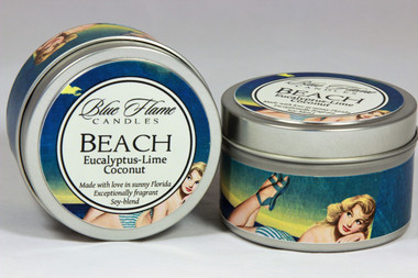 Beach Travel Tin
