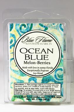 Ocean Blue Scented Melt