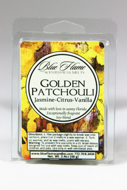 Golden Patchouli Scented Melt