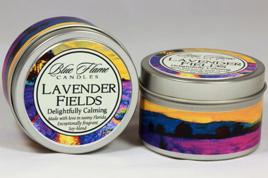 Lavender Fields Travel Tin