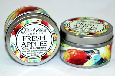 Fresh Apples Travel Tin