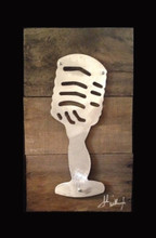 Old Microphone.  Great gift for a speaker, musician or Pastor.