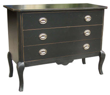 3-Drawer Commode