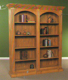 Double Bookcase BC201