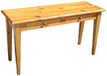 Shaker Leg Sofa Table with 2-Drawers T304