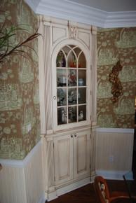 Reed Corner Cabinet