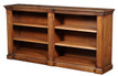 Fluted Console Bookcase in Maple Wood