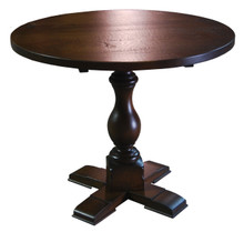 Graff Pedestal Table