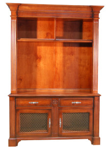 TV Hutch with Brass Screen panels