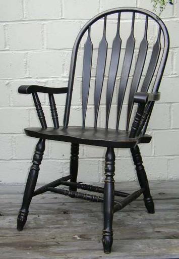 Lg. Arrowback Arm Chair