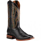 Hesston Western Boots - Midnight Black - 10018721