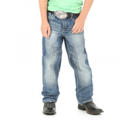 Boy's 20X Wrangler No. 33 Relaxed Fit Jeans - 33BLDLB