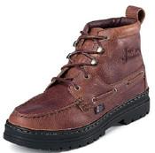 JUSTIN MEN'S BROWN CASUAL CHUKKA BOOTS - 991