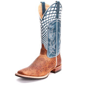 Anderson Bean Men's Horse Power Blue Volcano Boots - HP-1779
