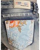 Grace in LA Women's Beach Comber Cutoff Shorts- JHW5978