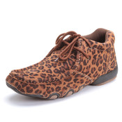 Roper Women's Leather Leopard Chukka - 0902117700761