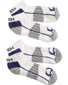 Cinch Men's White Athletic Ankle Socks (2-Pack) - MXY6001001