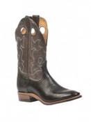 Boulet Mens Full Western Boot Roper Rider Sole - 0295