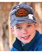 Cinch Boys' Grey Camo Flexfit Ballcap - MCC0697701