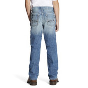 BOYS ARIAT B4 RELAX FIT STONEWASH JEANS - 10019526