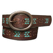 Tooled Green Aztec - 8817790