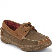Tony Lama Women's 3R Canvas Casual Shoes - RR3028L