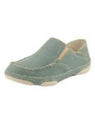 Tony Lama Ocean Blue Casvas Shoe - RR3038L