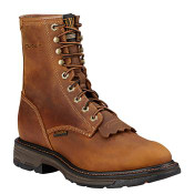 "Ariat Men's Workhog 8"" Lace Up Composite Work Boots - 10016267"