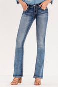 Cut It Close Mid-Rise Boot Cut Jeans - M9055B2