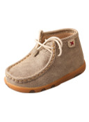Infant Driving Moccasins – Dusty Tan - ICA0005