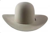 American Hat Company 10X Open Crown Silverbelly 4.5 Brim - 10-X6-0SIL