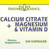 Calcium Citrate with Magnesium & Vitamin D (240 Tablets)