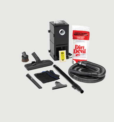 Dirt Devil All-in-One Central Vacuums System for RV's and Boats