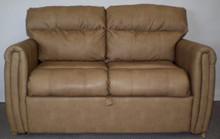 trifold sofa sleeper beckham tan