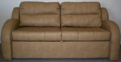 215 72 Trifold Sofa Sleeper Beckham Tan RV Furniture Center